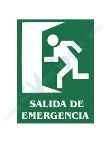 Cartel PVC 40x30 salida de emergencia