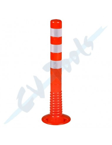 Hito 75 cm PVC blando Naranja Mod. E