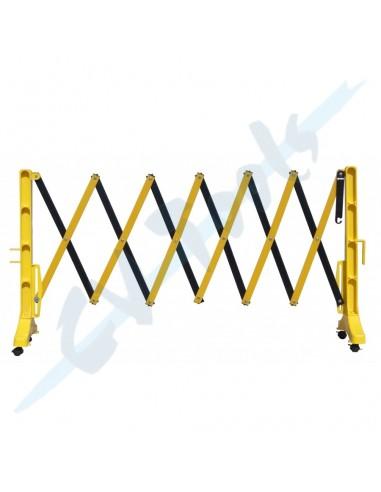 Valla PVC plegable 2,5 mts