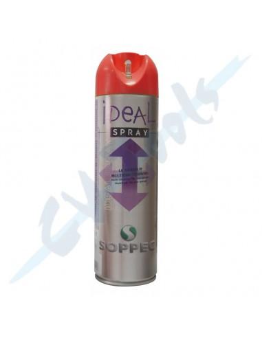 Spray fluo 360º 500 ml IDEAL rojo