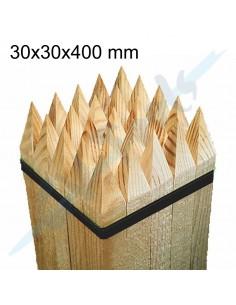 Estancas de madera 30x30x400