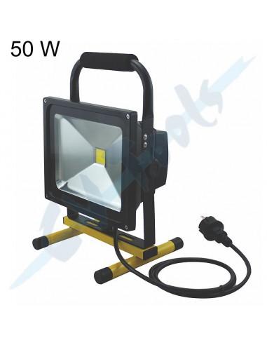 Foco LED con Soporte 50 W / 3500 LM