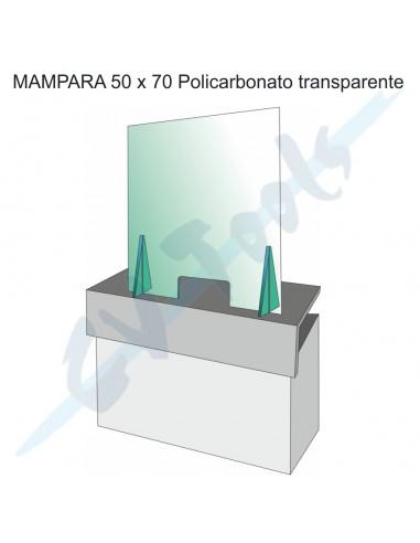 Mampara 50x70 policarbonato...