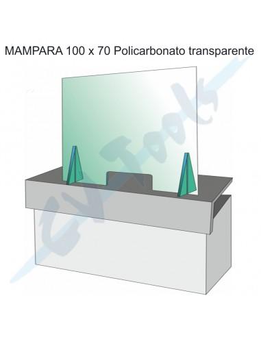 Mampara 100x70 policarbonato...