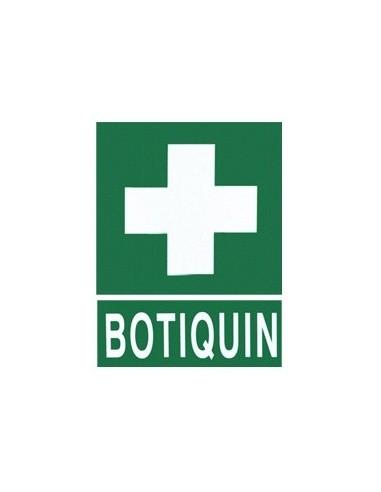 Cartel PVC 40x30 Botiquin