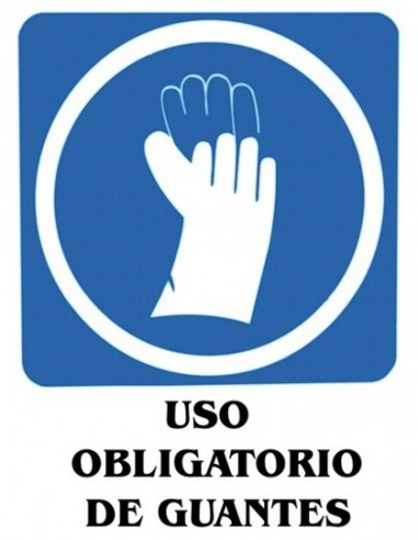 Adhesivo 11x15 Uso obligatorio de...