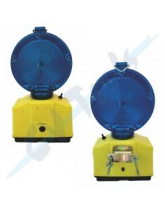 Baliza LED Azul intermitente