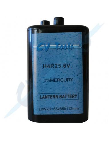 Batería para baliza 6v 4R25 7 Ah.