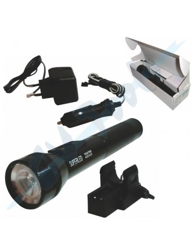 Linterna Super-led Polilux 12-220 v 3W